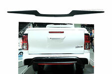 MATTE BLACK REAR TAILGATE LINE ACCENT FIT TOYOTA HILUX REVO M70 M80 4DR 2015-ON