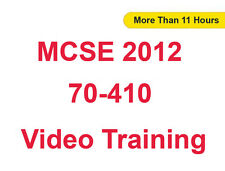 MCSE 2012 70-410 Install,Config Windows Server 2012 Video Training Tutorials CBT