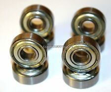 8 PACK! ROLLER BLADE QUAD INLINE SKATE BEARINGS 608ZZ GENUINE ABEC-7 608Z 8mm
