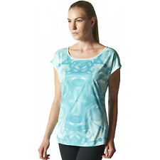 adidas CT Graphic Tee Frozen Mint sz small (8-10)