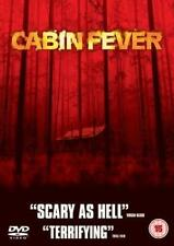 Cabine Fever DVD Film Horreur 'Occult' Comédie Scary Ex Location