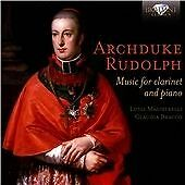 RUDOLPH: MUSIC FOR CLARINET AND PIANO NEW & SEALED