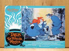 TARON E LA PENTOLA MAGICA fotobusta poster Walt Disney The Black Cauldron 1985