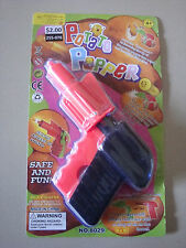 POTATO POPPER SPUD GUN SHOOTER PISTOL PLASTIC SAFE & FUN TOY NOVELTY KIDS RETRO