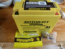 Harley Davidson Big Twin 1971-86 Motobatt battery  Upgrade electric start models