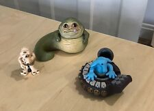 Star Wars Galactic Heroes - JABBA THE HUTT MAX REBO & DROOPY MCCOOL toy figures
