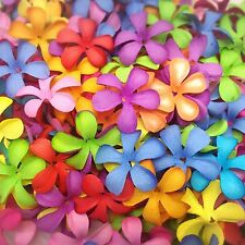 50 Mixed Plumeria Colorful flower mulberry paper for Craft & D.I.Y #01