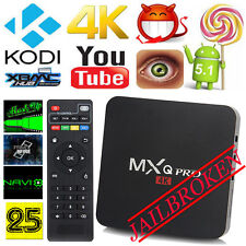 New MXQ PRO S905 Smart TV BOX Quad Core Android 5.1 KODI XBMC HD 1080p WIFI 4K