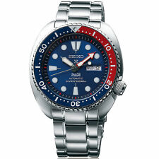 New Seiko Prospex PADI Men's Automatic Stainless Steel Diver Watch SRPA21
