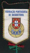 PORTUGAL BASKETBALL FEDERATION SMALL PENNANT 13x10cm