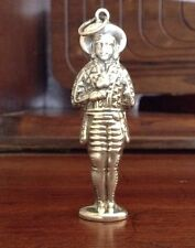 Needle Case - Figural Man Needlecase - Sterling Silver 925 - Dutch