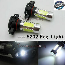 Xenon PLASMA 5202 LED FOG LIGHT DRL Projector 6000K Cool White Bulb PS24WFF H16