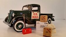 Danbury Mint 1935 Ford Delivery Truck- US Mail , VERY NICE, NEW OLD STOCK,W/ACC