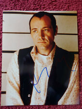 KEVIN SPACEY AUTOGRAPHED PHOTO WITH COA