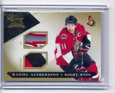 2010-11 Luxury Suite Prime Jersey Number Patch & Stick Daniel Alfredsson #5/10