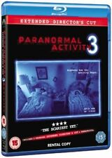 Paranormal Activity 3 BLU-RAY New & Sealed Extended Director's Cut