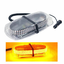 240 LED Yellow Light Bar Roof Top Emergency Hazard Warning Flash Strobe Light