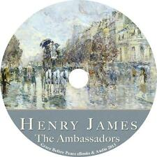 The Ambassadors, a Henry James European Action Adventure Audiobook on 1 MP3 CD