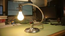 Vintage Table Lamp 1930's Art Deco Mid Century Chrome Chase