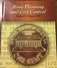 NEW Food Service Skills: Menu Planning and Cost Control - Pepper, FMP