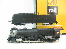 3rd Rail O-Scale Brass PRR M1a/b 4-8-2 Loco, 3 Rail TMCC & RailSounds 4.0