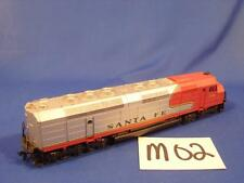 M02 VINTAGE HO SCALE TRAIN DIESEL ENGINE 106 SANTA FE PARTS