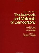 The Methods and Materials of Demography (Studies in Population)-ExLibrary