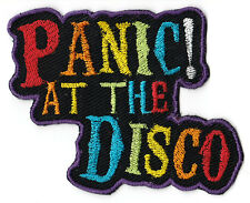 Panic! At the Disco Colorful Embroidered Iron on Patch