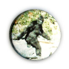 Badge Le Yéti l'abominable homme des neiges Bigfoot Sasquatch retro pins Ø25mm