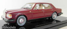 TSM 1/43 Scale - TSM114319 1980 Rolls Royce Silver Spirit Red resin model car