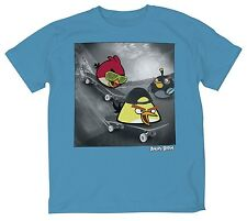 Angry Birds Skateboard Video Game Skater T-Shirt - Youth XXL 18/20 - New w/Tags!
