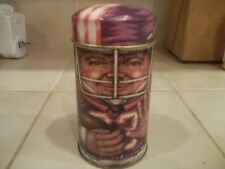 Vintage Cap TINS  ESTATE FIND FOOTBALL PLAYER TIN 4""