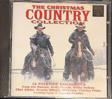 The Christmas Country Collection (CD) Country Christmas Willie Nelson Dolly Etc
