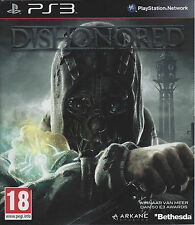DISHONORED for Playstation 3 PS3 - with box & manual