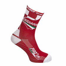 CALZE CALZINI CICLISMO PROLINE TEAM MERIDIANA THERMOLINE CYCLING SOCKS 1 PAIO