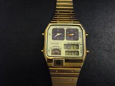 CITIZEN Ana Digi Temp Wristwatch 8988 Excellent