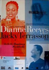 ROLF BENZ JAZZ NIGHTS - 2002 - Konzertplakat - Dianne Reeves - Terrasson - Hambu