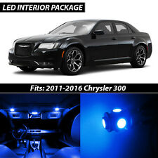 2011-2016 Chrysler 300 Blue Interior LED Lights Package Kit