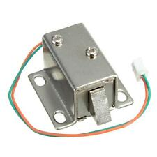 12VDC 0.6A Cabinet Door Drawer Electric Lock Assembly Solenoid Lock 27*29*18mm
