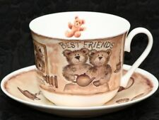 ROY KIRKHAM OLD FRIENDS Fine Bone China Breakfast Cup & Saucer Set