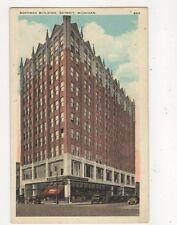 Hoffman Building Detroit Vintage Postcard USA 512a