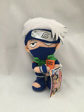 "KAKASHI Hatake * Naruto 2003 UFO Catcher Japan Banpresto 9"" Plush Rare Figure"