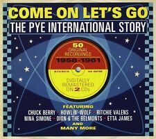 Come On Let's Go-Pye International Story 2-CD NEW SEALED Marcels/Edsels/Ideals+