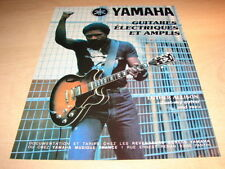 LUTHER ALLISON  !!!!!!JUST MY GUITAR!!!!! FRENCH ADVERT
