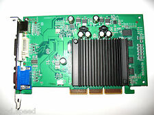 nVIDIA GeForce 512MB AGP 4X 8X Single Slot Video Graphics VGA Card VGA+DVI+