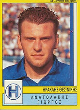 N°141 IRAKLIS THESSALONIKI GREECE PANINI GREEK LEAGUE FOOT 95 STICKER 1995