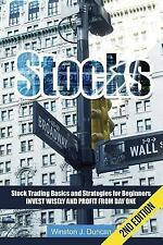Stocks : Stock Trading Basics and Strategies for Beginners - Invest Wisely...