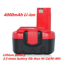 4000mAh Li-ion Battery For Bosch BAT038 BAT040 GSR 14.4 V GSR 14.4 V PSR 14.4VE