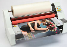 V350 Laminating Machine  Laminator Four Rollers Hot Roll Laminating Machine