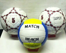 Wholesale lot New 1 Beach Volley Ball and 2 SUPER Soccer Ball (3 Balls Total)
